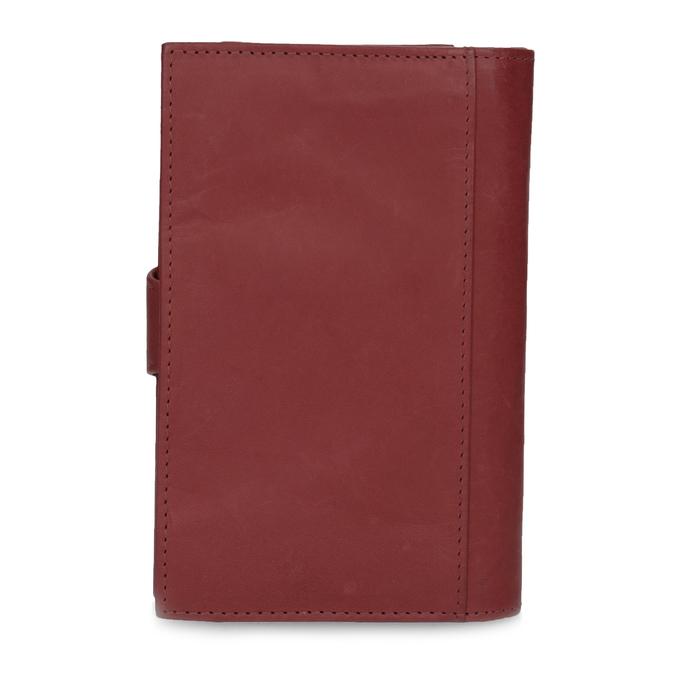 Damen-Geldbörse aus Leder, Rot, 944-5155 - 16