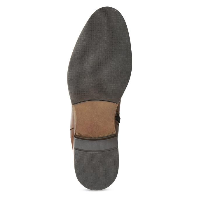Braune Lederstiefel bata, Braun, 594-4637 - 18
